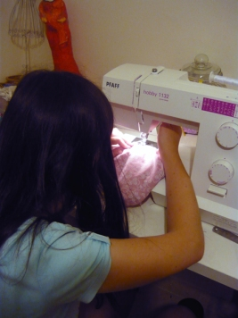 learning to sew 3