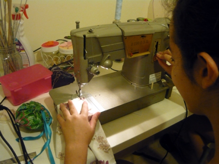 learning to sew 4