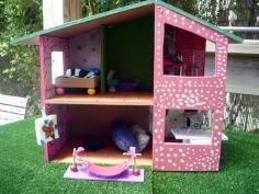 בנית בית בובות