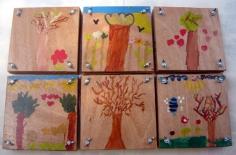 עץ- ספר יבוש פרחים
