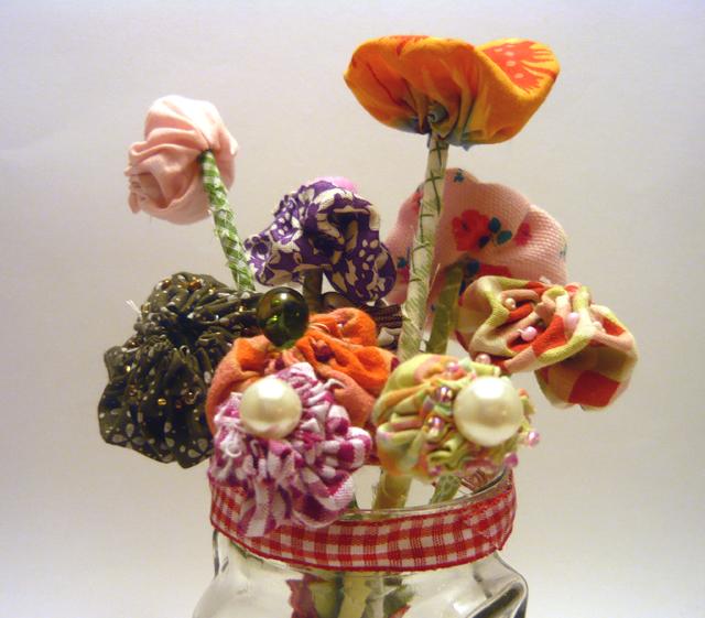yoyo flower bouquet 2