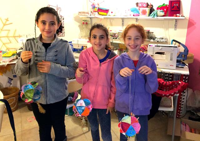 children create Paper balls