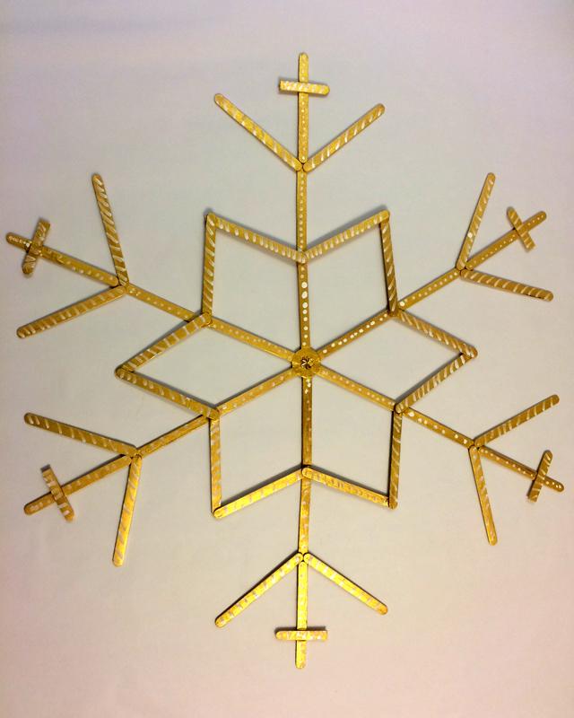 hanouka snowflakes