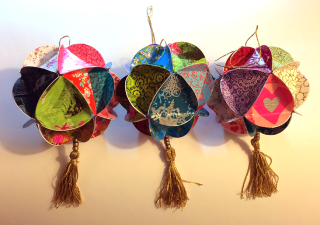paper balls hanouka 2014