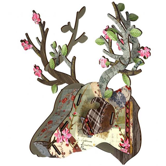 ראש אייל מעץ - miho