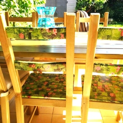 כסאות ירוקים - גב
