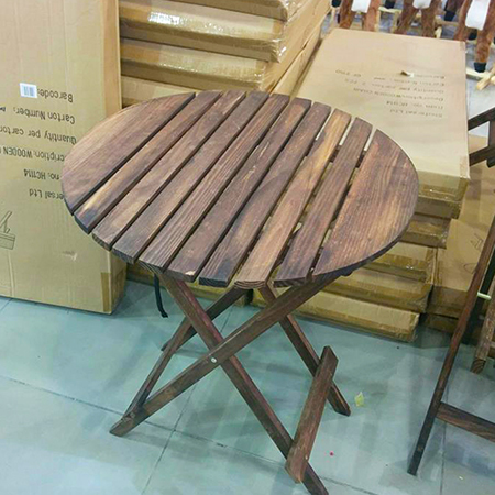 שולחן תה - לפני