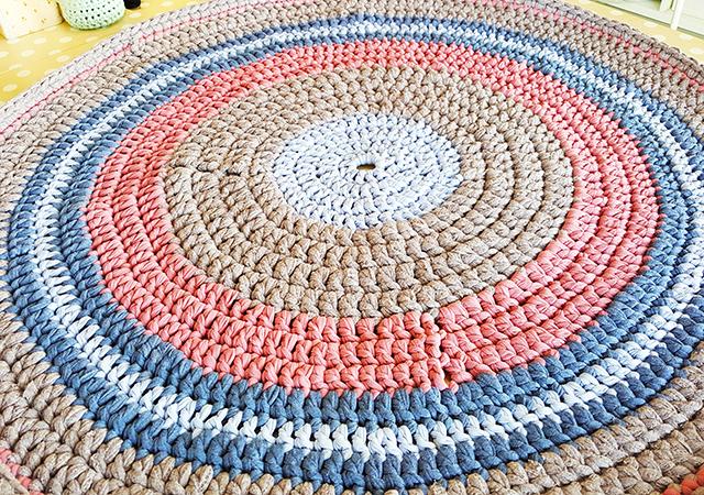 שטיח טריקו סרוג