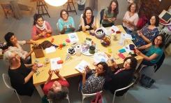 Community knitting